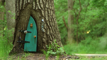 Visit Firefly Forest Doors for reproductions of the doors by Robyn